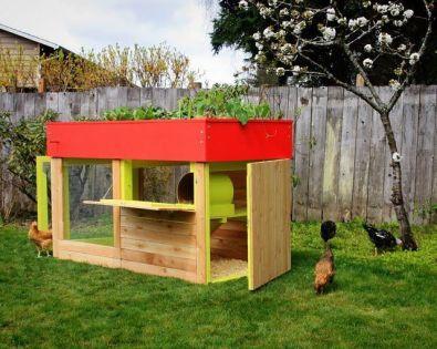 Extraordinary chicken coop decor ideas 28