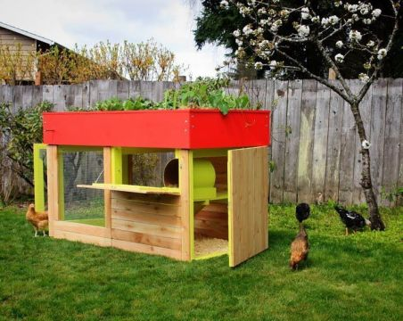Extraordinary chicken coop decor ideas 28