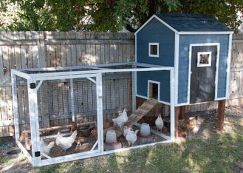 Extraordinary chicken coop decor ideas 32