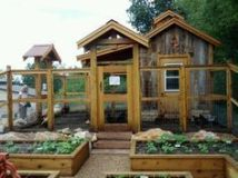Extraordinary chicken coop decor ideas 36