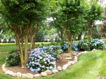 Impressive small front yard landscaping ideas 08