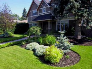 Impressive small front yard landscaping ideas 27