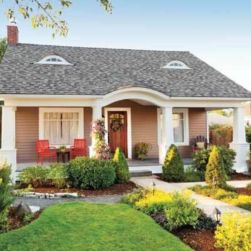 Impressive small front yard landscaping ideas 33