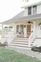 Most stylish farmhouse front door design ideas 03