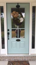 Most stylish farmhouse front door design ideas 24