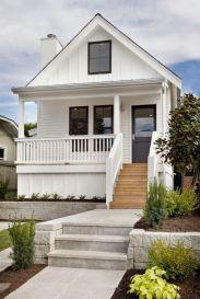 Most stylish farmhouse front door design ideas 43