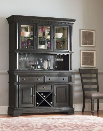 Most unique china cabinet makeover ideas 12
