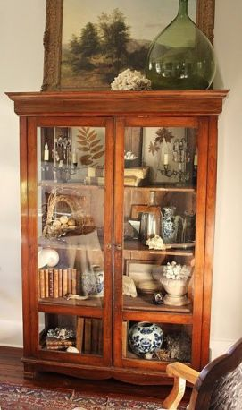 Most unique china cabinet makeover ideas 13