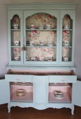 Most unique china cabinet makeover ideas 32