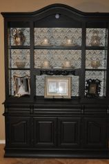 Most unique china cabinet makeover ideas 37