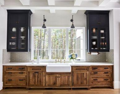 Wonderful wood kitchen design ideas for cozy kitchen inspiration 05