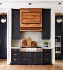 Wonderful wood kitchen design ideas for cozy kitchen inspiration 35