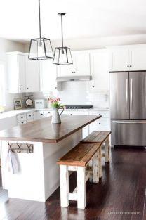 Wonderful wood kitchen design ideas for cozy kitchen inspiration 37