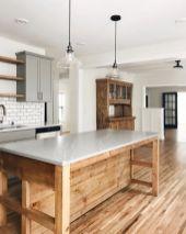 Wonderful wood kitchen design ideas for cozy kitchen inspiration 42