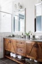 Adorable modern rustic bathroom ideas 02