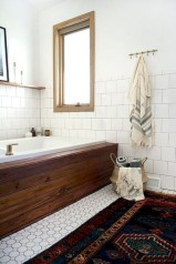 Adorable modern rustic bathroom ideas 13
