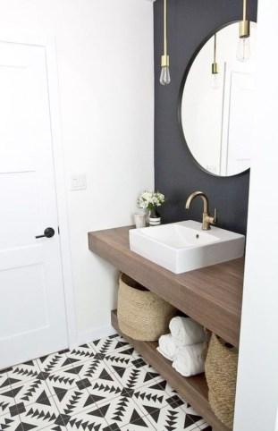 Adorable modern rustic bathroom ideas 24