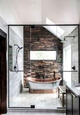Adorable modern rustic bathroom ideas 28