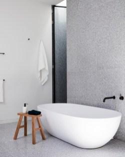 Adorable modern rustic bathroom ideas 34
