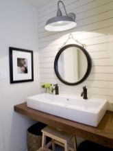 Affordable modern small bathroom vanities ideas 02