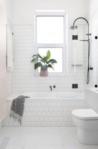 Affordable modern small bathroom vanities ideas 12