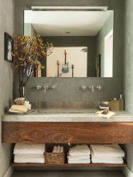 Affordable modern small bathroom vanities ideas 14