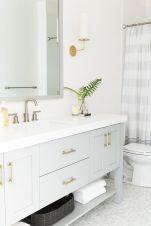 Affordable modern small bathroom vanities ideas 16