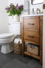 Affordable modern small bathroom vanities ideas 18