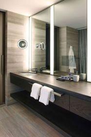 Affordable modern small bathroom vanities ideas 25