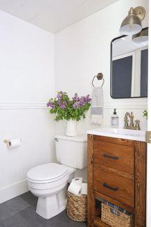 Affordable modern small bathroom vanities ideas 30