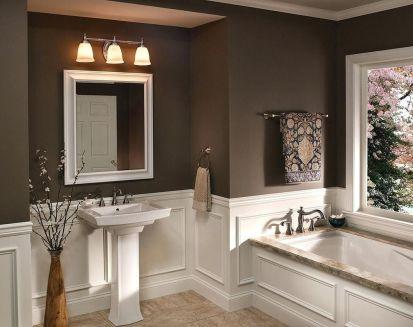 Affordable modern small bathroom vanities ideas 31