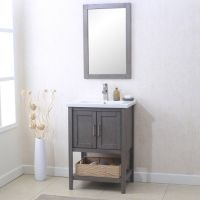 Affordable modern small bathroom vanities ideas 33