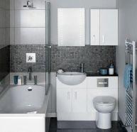 Affordable modern small bathroom vanities ideas 39