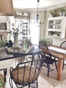 Amazing farmhouse kitchen decor ideas for inspiration 06