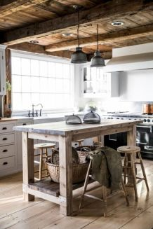 Amazing farmhouse kitchen decor ideas for inspiration 16
