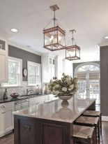 Amazing farmhouse kitchen decor ideas for inspiration 21