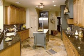Amazing oak cabinet kitchen makeover ideas 02
