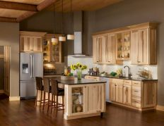 Amazing oak cabinet kitchen makeover ideas 06