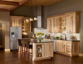 Amazing oak cabinet kitchen makeover ideas 06