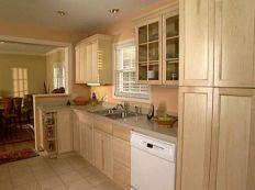 Amazing oak cabinet kitchen makeover ideas 08