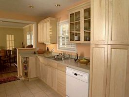 Amazing oak cabinet kitchen makeover ideas 08
