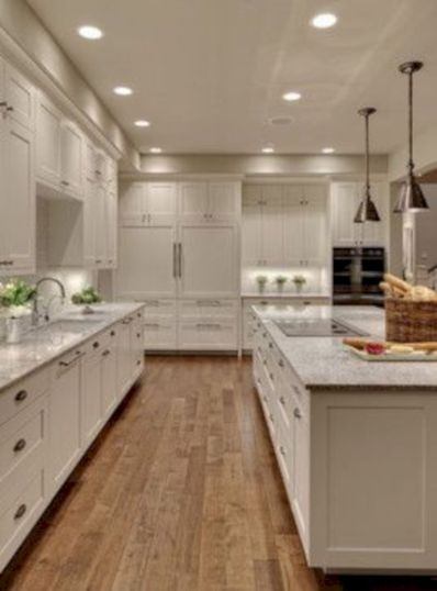 Amazing oak cabinet kitchen makeover ideas 38