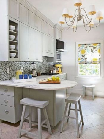 Awesome kitchen makeovers for small kitchens 09