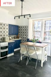 Awesome kitchen makeovers for small kitchens 28