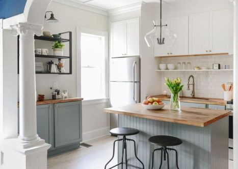Awesome kitchen makeovers for small kitchens 41