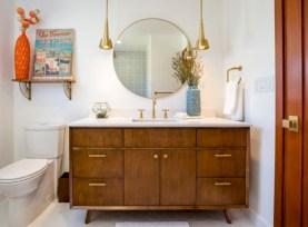 Beautiful mid century modern bathroom ideas 25