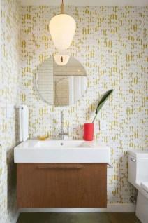 Beautiful mid century modern bathroom ideas 32