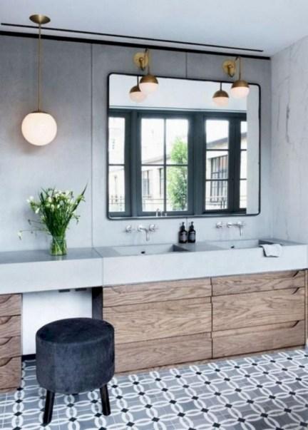 Beautiful mid century modern bathroom ideas 39