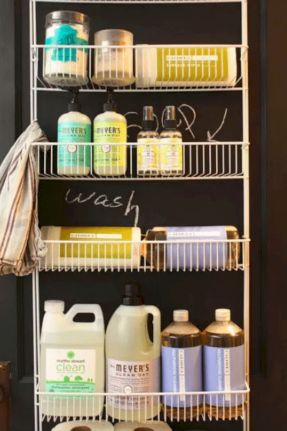Brilliant laundry room organization ideas 41