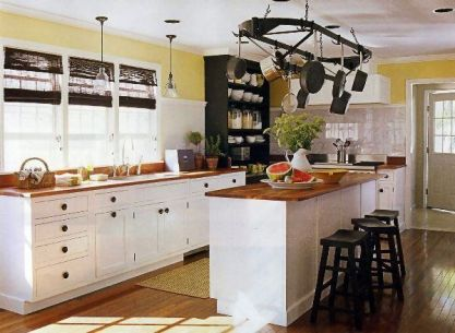 Comfy antique white kitchen cabinets ideas 46